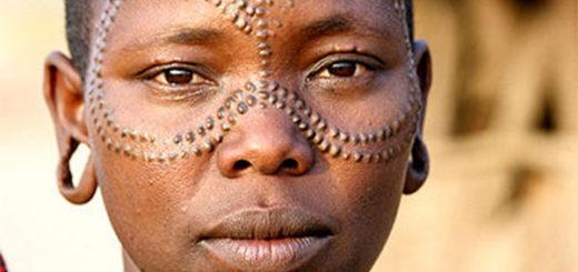 spots tribal mark