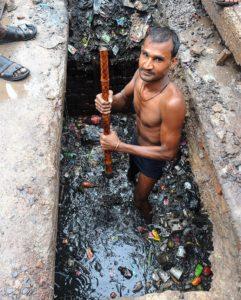 gutter cleaner worst job in africa