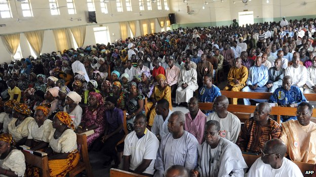Nigerians in church