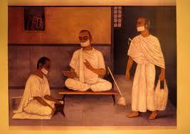 Jainism monks