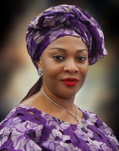 Female politician in Nigeria