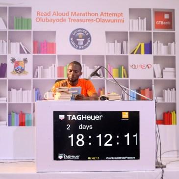 Nigerian Breaks World Record For Longest Reading Marathon
